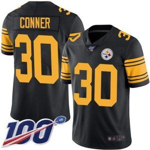 Steelers James Conner 100th Season Jersey 3